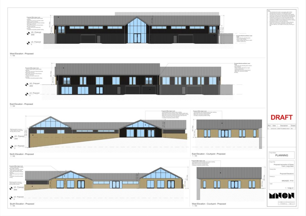 John Ryan Developments Commercial Build Home Farm