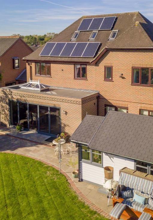 John Ryan Developments Energy Solar Panel Housing Installation Solution Nottingham