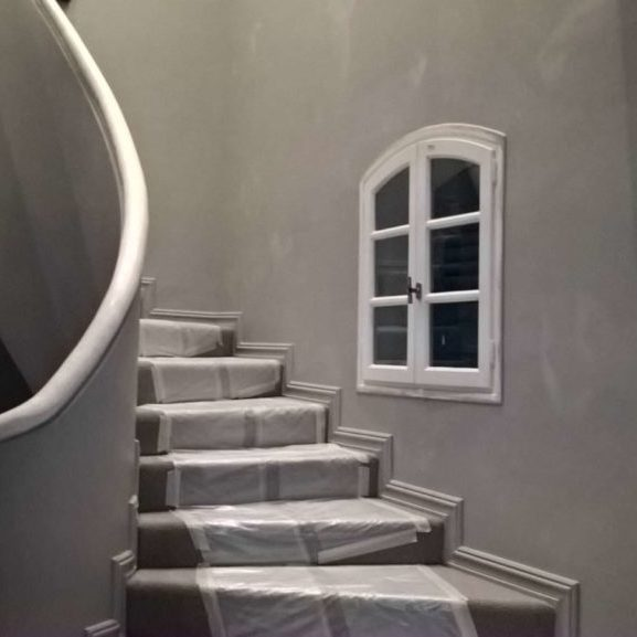 John Ryan Developments New Build Staircase